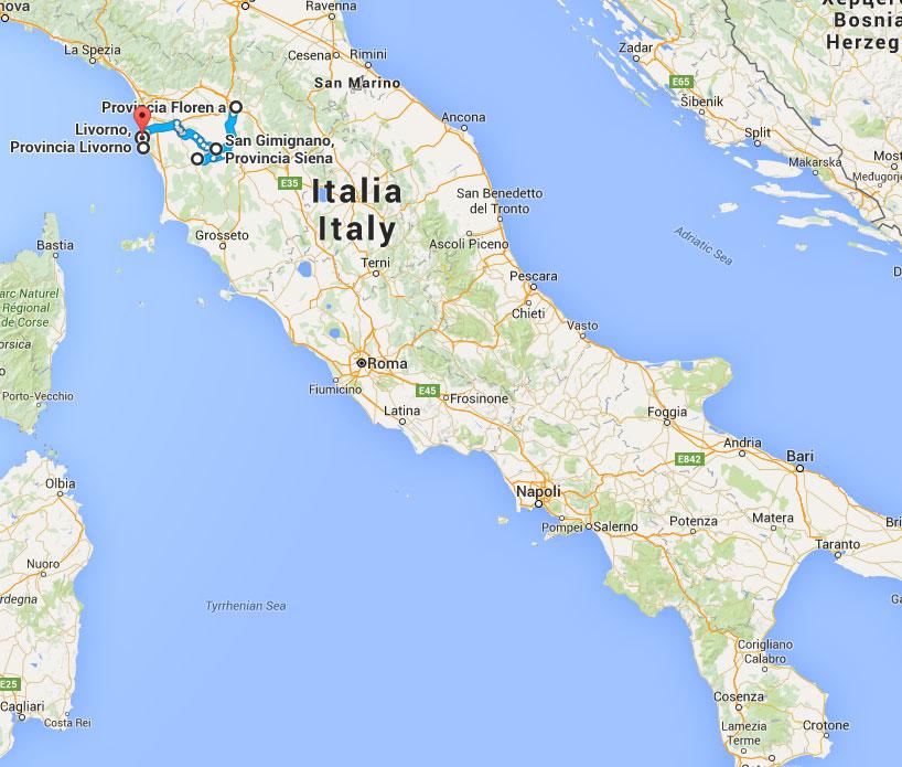 Mini Roadtrip Cu Copiii Printre Dealurile Din Toscana De La